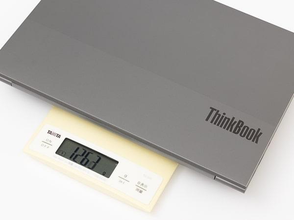 ThinkBook 13s Gen 2 重さ