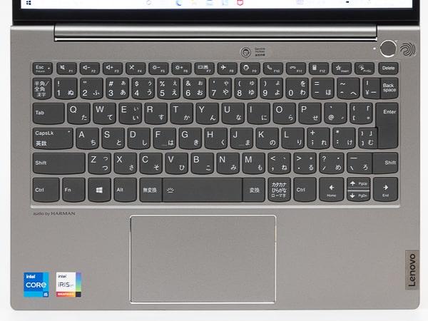 ThinkBook 13s Gen 2 キーボード