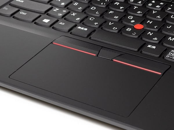 ThinkPad E14 Gen 3(AMD) タッチパッド