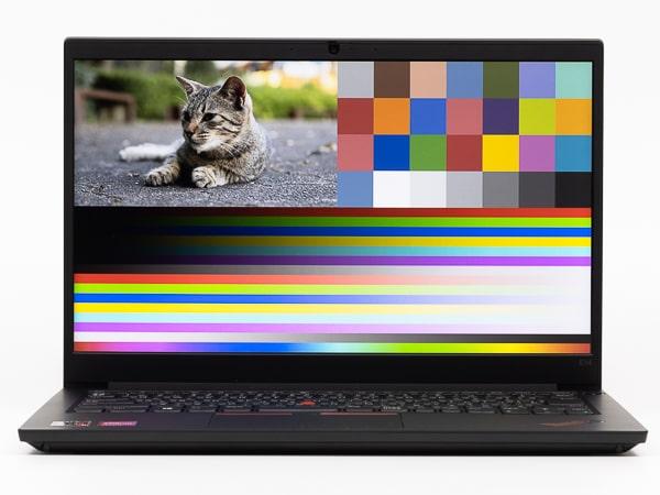 ThinkPad E14 Gen 3(AMD) 映像品質