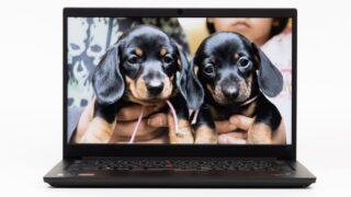 ThinkPad E14 Gen 3(AMD)のディスプレイについて:画面が見やすいIPSパネルがおすすめ
