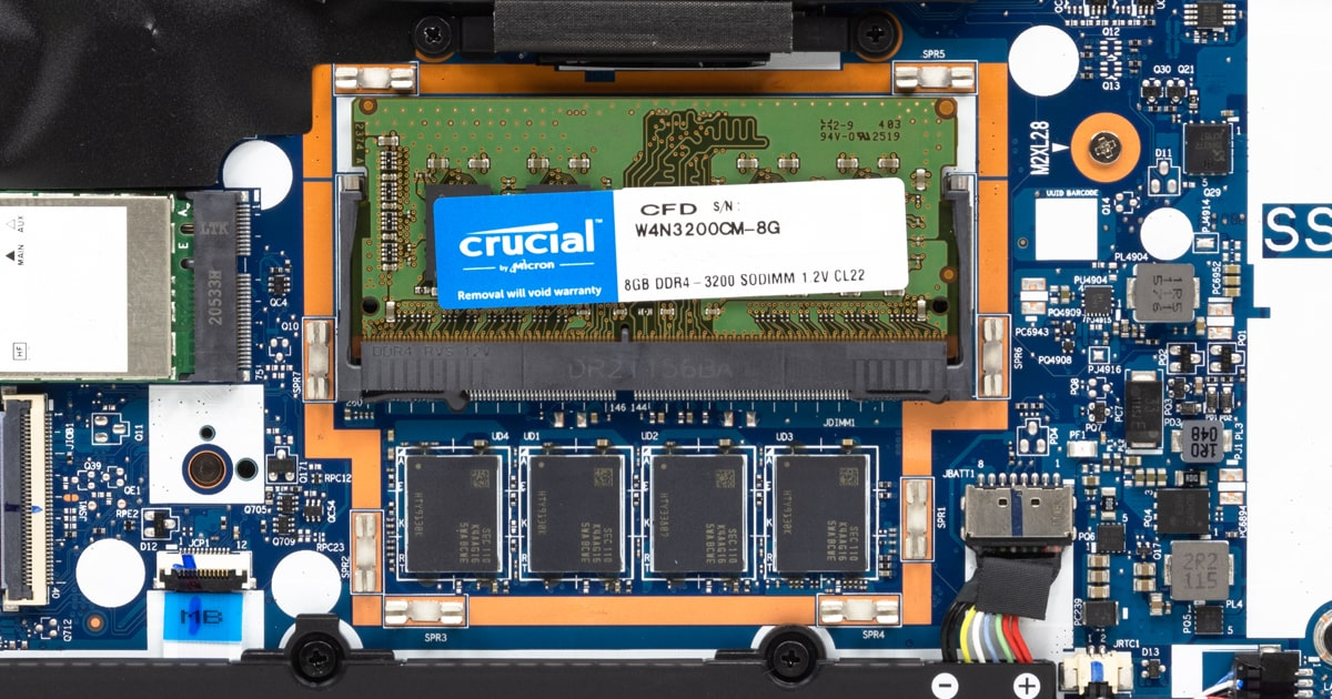 ThinkPad E14 Gen 3(AMD)のメモリー増設の効果について