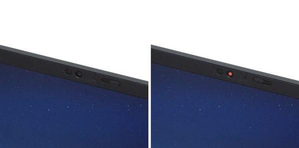 ThinkPad X1 Carbon Gen 9 カメラ