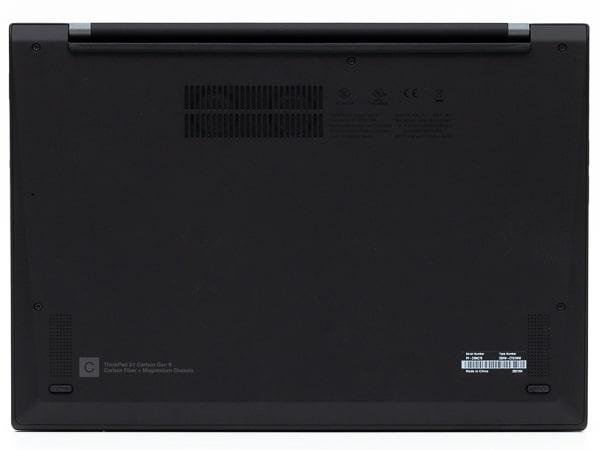 ThinkPad X1 Carbon Gen 9 底面部
