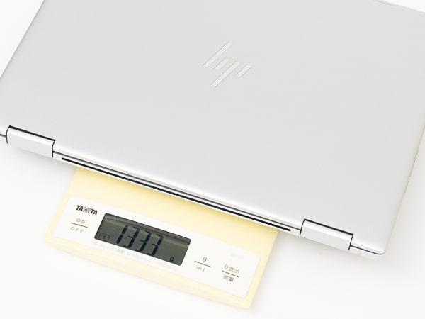 HP Chromebook x360 13c 重さ