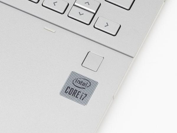 HP Chromebook x360 13c 指紋センサー