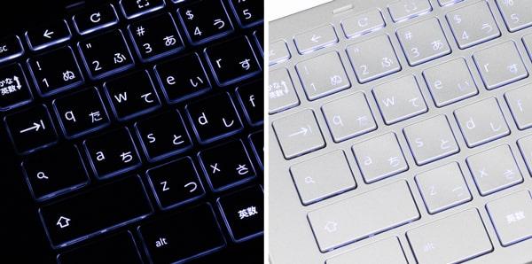 HP Chromebook x360 13c バックライト