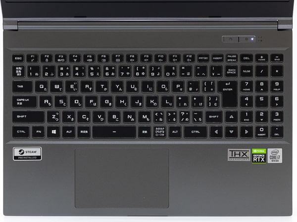 GALLERIA XL7C-R36 キーボード