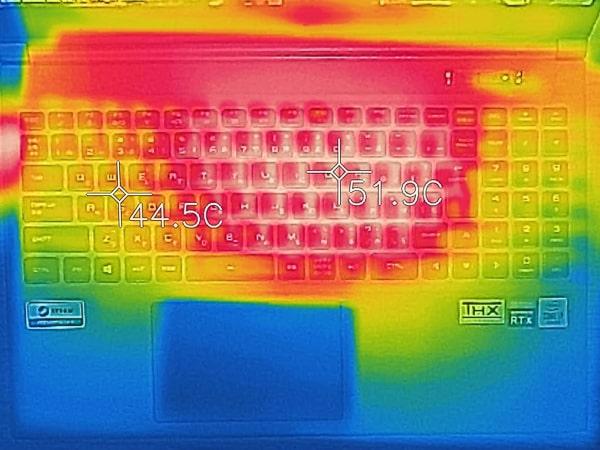 GALLERIA XL7C-R36 熱