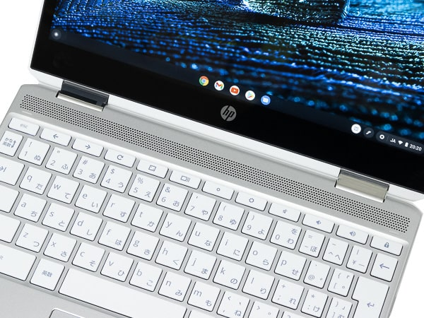 HP Chromebook x360 12b スピーカー