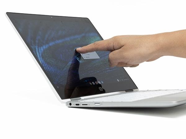 HP Chromebook x360 12b タッチ操作