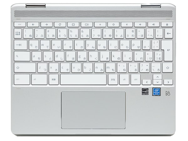HP Chromebook x360 12b キーボード