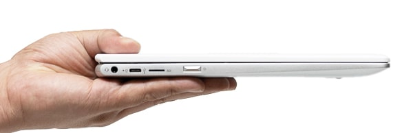 HP Chromebook x360 12b 薄さ