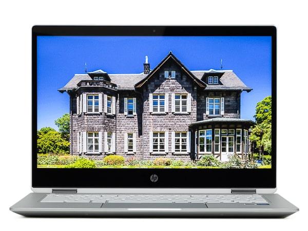 HP Chromebook x360 14b コントラスト