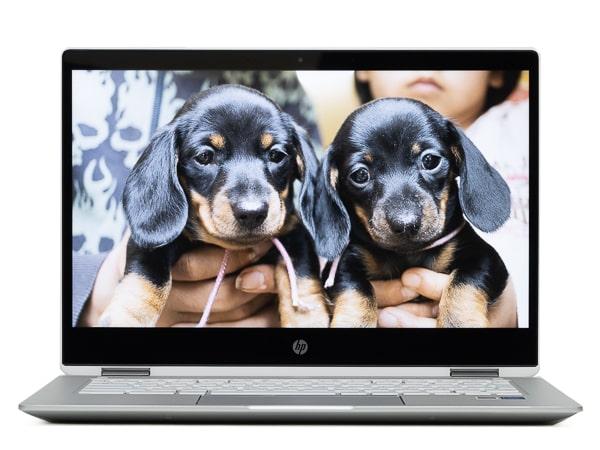 HP Chromebook x360 14b ベゼル
