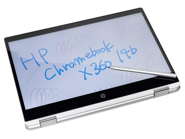 HP Chromebook x360 14b ペン入力