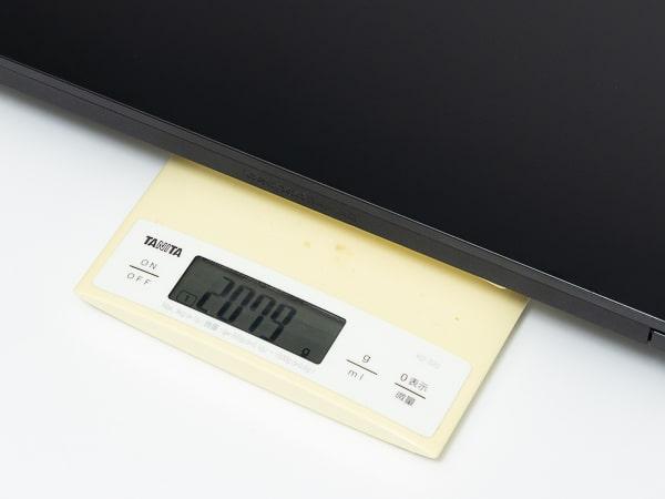 IdeaPad Gaming 350 15 (AMD) 重さ