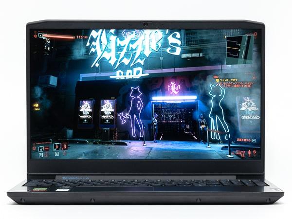 IdeaPad Gaming 350 15 (AMD) 明るさ