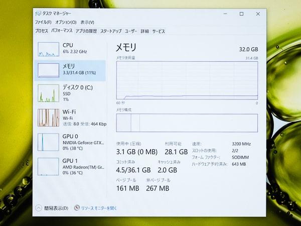 IdeaPad Gaming 350 15 (AMD) メモリー増設