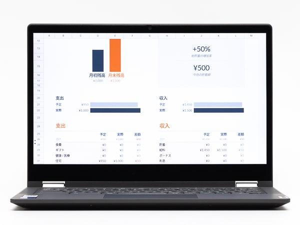 IdeaPad Flex550i Chromebook 明るさ