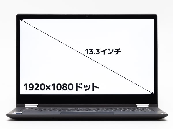 IdeaPad Flex550i Chromebook 画面サイズ