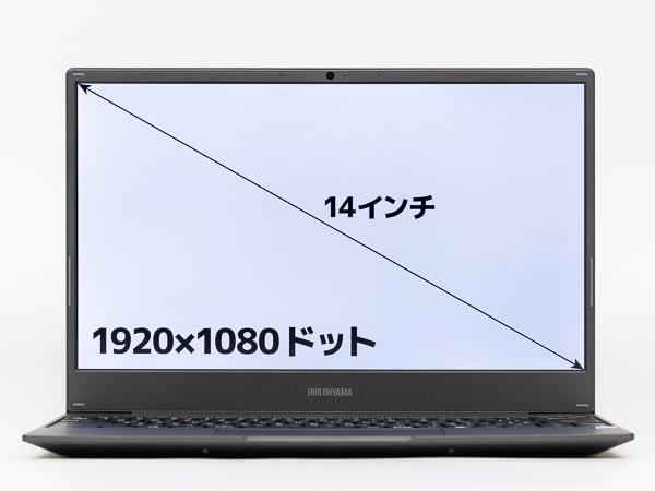 IPC-AA1401-HM 画面サイズ