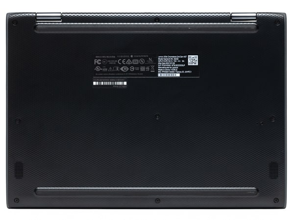 Lenovo 300e Chromebook 2nd Gen 底面