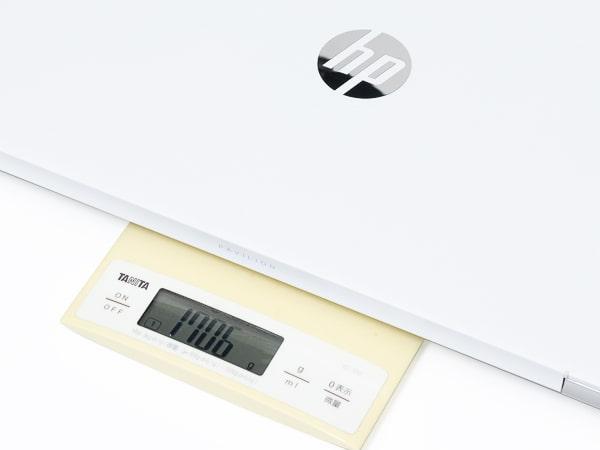 HP Pavilion 15-eg 重さ