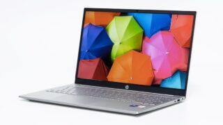 HP Pavilion 15-eg(インテル)レビュー:良デザインの15.6インチスタンダードノートPC