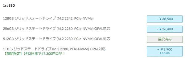 thinkpad 1TB SSD
