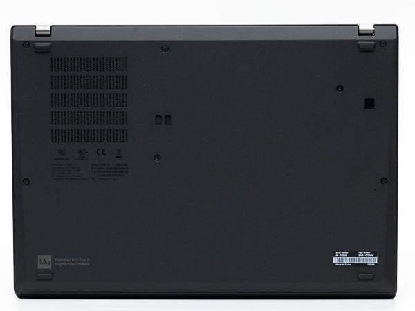 ThinkPad X13 Gen 2 底面