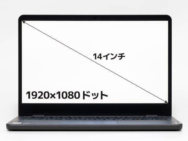 Lenovo 14e Chromebook Gen 2(AMD) 画面サイズ