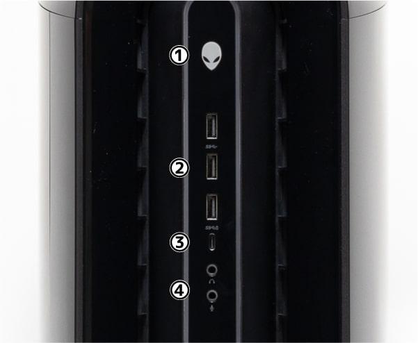 Alienware Aurora R12 前面