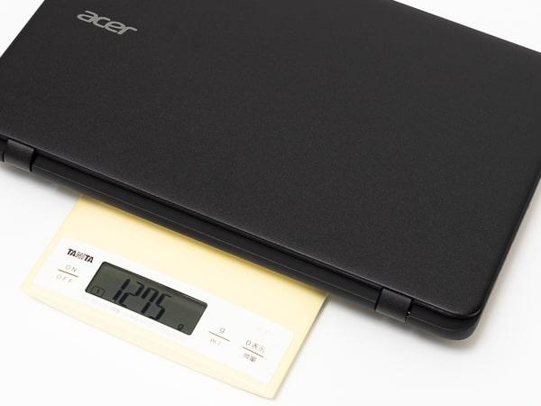 Acer Chromebook 11 C732 重さ
