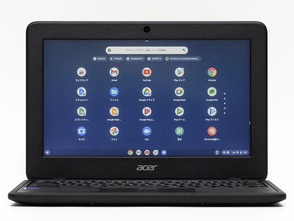 Acer Chromebook 11 C732 画面