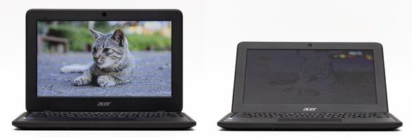Acer Chromebook 11 C732 視野角