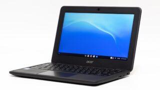 Acer Chromebook 11 C732(C732L-H14M)レビュー:LTE+MIL規格準拠の11.6インチモバイルノートPC