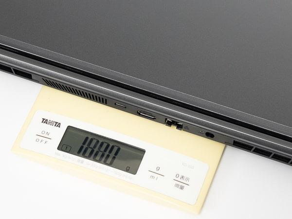 GALLERIA RL5C-R35T 重さ