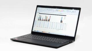 Lenovo V15 Gen 2(AMD)レビュー:Ryzen搭載で5万円台からの高コスパなビジネス向け15.6インチノートPC