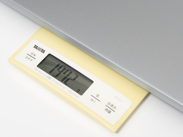 IdeaPad Slim 560 Pro(16)  重さ