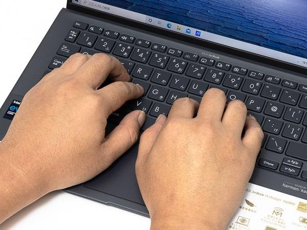 Zenbook 14 UX435 タイプ音